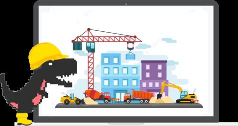 Website bouwen - Digital Dinosaurs