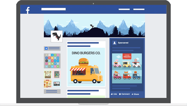 Facebook marketing - Digital Dinosaurs