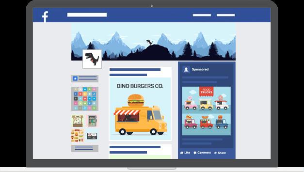 Facebook marketing - Digital Dinosaurs