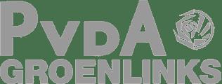 PvdA Groenlinks logo grijs